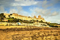 Mdina malta a fortified silent city in it was formerly the capital city of Stock Image