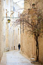 Mdina street Stock Photo