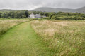 Meadows at derrynane house caherdaniel killarney county kerry ireland Stock Photo