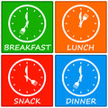 Meals Stock Photo
