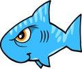 Mean Shark Vector Illustration Royalty Free Stock Photo