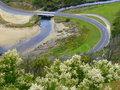 Meandering Great Ocean Road, Australia Royalty Free Stock Images