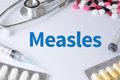 Measles Royalty Free Stock Photo