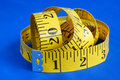 A measuring tape Royalty Free Stock Images
