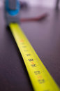 Measuring tool in centimeters Royalty Free Stock Image