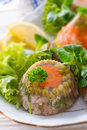 Meat aspic Royalty Free Stock Photography