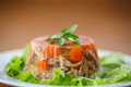 Meat aspic Royalty Free Stock Photo