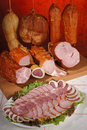 Meat delicacies #1 Royalty Free Stock Photo