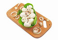 Meat dumplings with chicken 2 Royalty Free Stock Photo