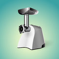 Meat grinder vector illustration Royalty Free Stock Photo