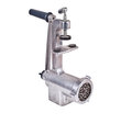 Meat grinder on a white background Royalty Free Stock Images