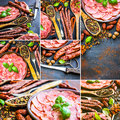 Meat products Royalty Free Stock Photo