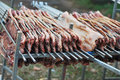 Meat Ready For Barbecue Royalty Free Stock Photography