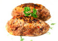 Meat rissoles Stock Images