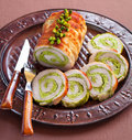 Meat roulade Royalty Free Stock Images
