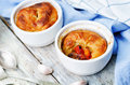 Meat vegetables potpie Royalty Free Stock Photo