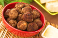 Meatball Appetizer Royalty Free Stock Photos