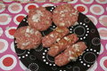 Meatballs and Cevapcici Royalty Free Stock Photo