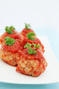 Meatballs in sauce Royalty Free Stock Images
