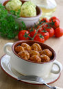 Meatballs in tomato sauce. Stock Image