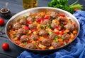 Meatballs in tomato sauce Royalty Free Stock Photo