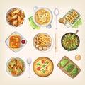 Meatless vegetarian cuisine