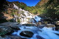 Meaya Waterfall, North of Thailand Royalty Free Stock Photos