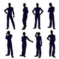 Mechanic Silhouette Royalty Free Stock Photo