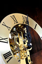 Mechanical clock Royalty Free Stock Photo