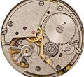 Mechanical clockwork. Royalty Free Stock Image