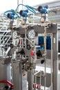 Turbine pressure measuring group. Power stations