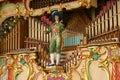 Mechanical Music Organ Royalty Free Stock Photo