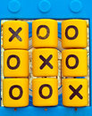 Noughts and Crosses Playground Game Royalty Free Stock Photo