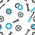 Mechanical Tools Seamless Flat Raster Pattern