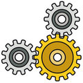 Mechanism (vector) Royalty Free Stock Images