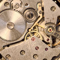 Mechanism of a watch Royalty Free Stock Photo