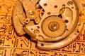 Mechanizmu zegarek Fotografia Royalty Free