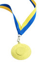 Medal for first place Royalty Free Stock Photos