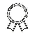 Medal price winner award Royalty Free Stock Photo