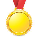 Medal a symbol of awards achievement championship Stock Images