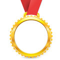 Medal a symbol of awards achievement championship Stock Photo