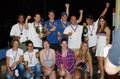 Medalists, 49er and 49erFX Nationals 2013, Miami Royalty Free Stock Photo