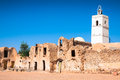 Medenine (Tunisia) : traditional Ksour (Berber Fortified Granary Royalty Free Stock Photo