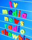Media concept Royalty Free Stock Photo