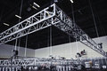 Media event built up rigging truss Royalty Free Stock Images