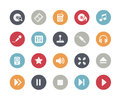 Media Icons // Classics Royalty Free Stock Photo