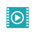 Media player portable isolated icon Royalty Free Stock Photo