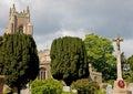 A Mediaeval English Church Stock Photo