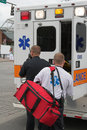 Medic reponse Stock Images