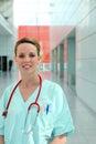 Medic in scrubs Stock Photos